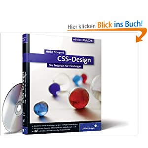CSS-Design: Die Tutorials für Einsteiger (Galileo Design)