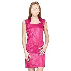 Species Women's A-line Dress (S-569_Pink_XX-Large)