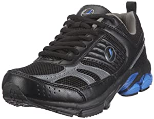 Ultrasport Men's Running Shoe - Black/Silver/Blue, Size 9