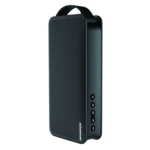 Monstercube Flyer Altoparlante Portatile Wireless Cassa Bluetooth con Microfono e Funzione di AUX Casse Bluetooth per ipad Tascabile Pocket Speaker senza Fili - Nero