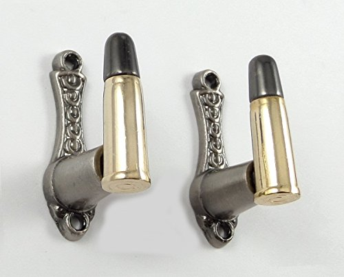 Bullet Design Sword Pistol Knife Gun Wall Hanger Hook Display Bracket Mount Rack (Sword Display Hooks compare prices)