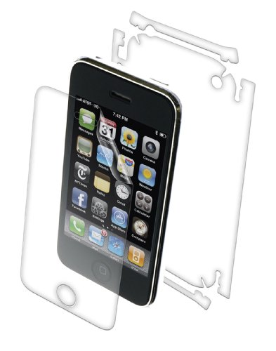 ZAGG APLIPHONE2FB InvisibleShield for the Apple iPhone 3G, Full Body