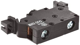 Siemens 3SB39 01-0AG Contact Block Support Terminal, Screw Connection, Base Mounting, Black