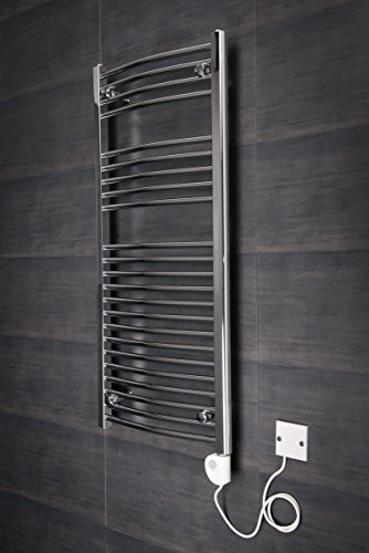 Elektrischer-Handtuchheizkrper-Badheizkrper-1100x500-Chrom-gebogen