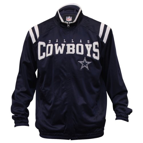 NFL Dallas Cowboys Full Zip Athletic Track Jacket - 2XL at Amazon.com