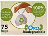 Sassy Oxo-Biodegradable Diaper Sacks - 75ct