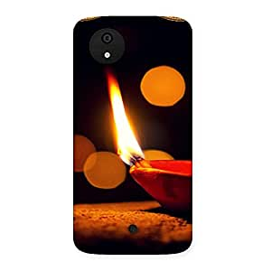 Positive Light Back Case Cover for Micromax Canvas A1