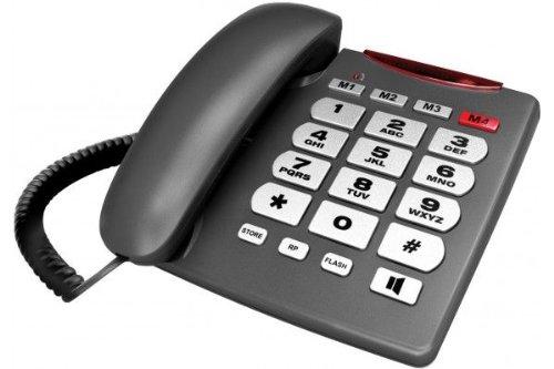Telephone Analogique à grandes touches et témoin lumineux