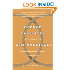 Why Marriage: The History Shaping Today's Debate Over Gay Equality