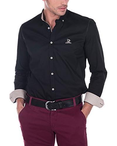 Giorgio Di Mare Camisa Hombre Negro