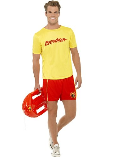 Baywatch Beach Costume For Men