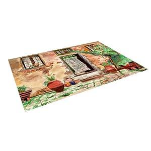 door green brown indoor outdoor floor mat 4 by 5 feet patio lawn