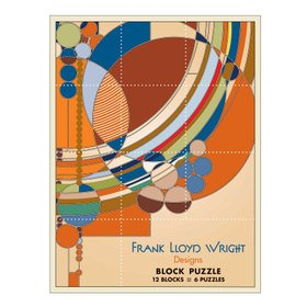 Frank Lloyd Wright Designs Block Puzzle - 1