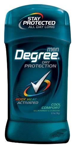 Degree Men  Anti-Perspirant & Deodorant, Cool Comfort 2.7 Ounce (Pack of 6)