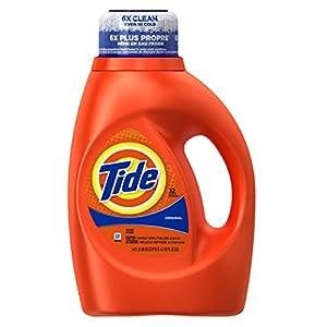 Tide Liquid Laundry Detergent, Original Scent, 50 Ounce