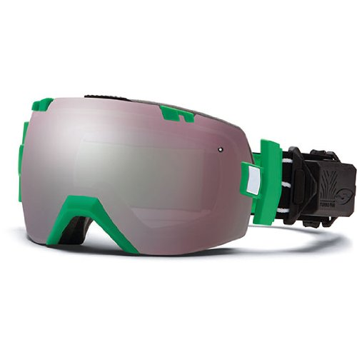 Smith Optics I/OX Elite Turbo Fan Goggles, Kelly Blockhead, Ignitor