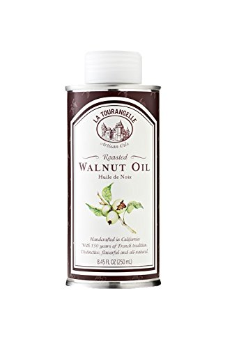 La Tourangelle Roasted Walnut oil - Rich Nutty Flavor- All-natural, Expeller-pressed, Non-GMO, Kosher - 8.45 Fl. Oz.