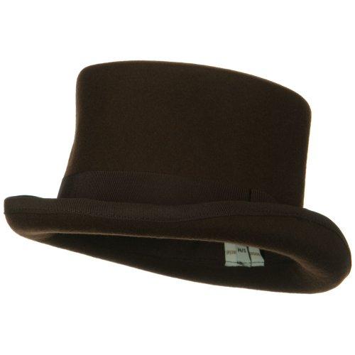 Classic Top Hat - Brown M-L