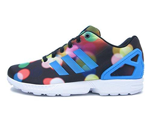 Adidas ZX Flux (Disco Lights) B23984 (12) (Mens Disco Shoes)