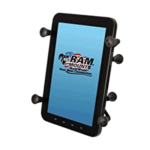 """RAM Mounts Universal X-Grip Holder with 1"""" Ball for Small Tablet - RAM-HOL-UN8BU"""