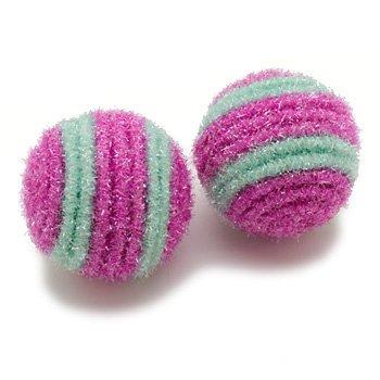 CFA Active Cat Sparkle Balls with Rattle