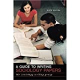 img - for A Guide to Writing Sociology Papers6th (Sixth) Edition book / textbook / text book