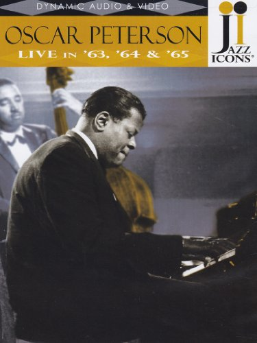 Jazz Icons - Oscar Peterson - Live In '63, '64 And '65 [DVD] [1963] [2008]