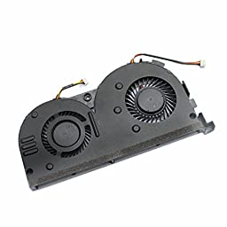 Generic CPU Cooling Fan For Lenovo Erazer Y50-70AS Y50-70AM Y50 Series Laptop Notebook Replacement Accessories P/N:DFS501105PQ0T DC5V 0.5A