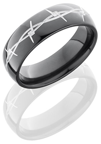 Lashbrook Z7D/Barb Wedding Band - Zirconium