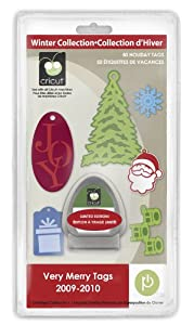 Cricut Seasonal Cartridge, Very Merry Tags