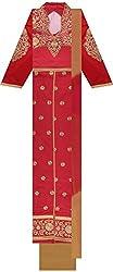 Shine Women's Cotton Unstitched Dress Material (Rani)