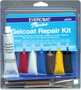 Fibre Glass-Evercoat Co Gel Coat Repair Kit 1 OzB0000AXTHB : image