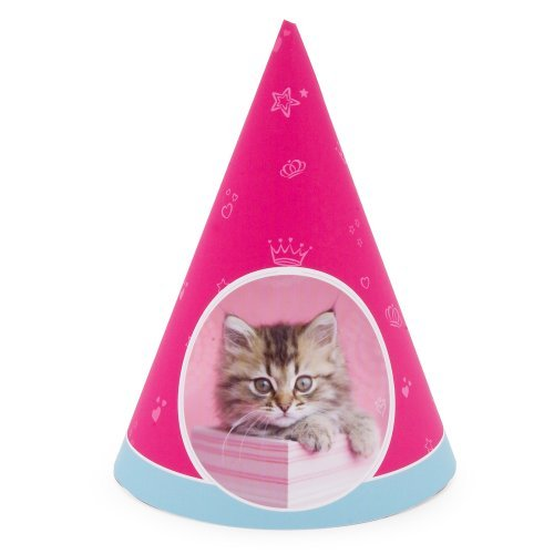 rachaelhale Glamour Cats Hats (8) Party Supplies