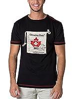 CANADIAN PEAK Camiseta Manga Corta Jaby (Negro)