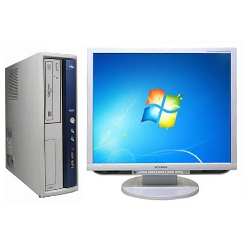 中古 デスクトップパソコンNEC MB-A (126892)【液晶セット】【Windows7 64bit搭載】【Core i5搭載】【メモリー4096MB搭載】【HDD500GB搭載】【DVDマルチ搭載】