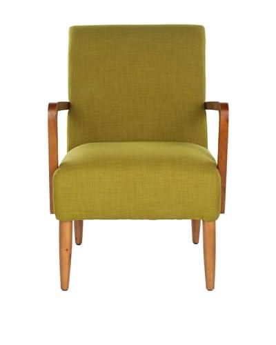 Safavieh Wiley Arm Chair, Sweet Pea Green