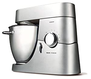 Kenwood KM 020  Küchenmaschine Titanium Major 1500 W Titan/silber Profi K Haken 3 teiliges Patisserieset GlasMixaufsatz  Testsieger Testmagazin (01/2012)Überprüfung und weitere Informationen