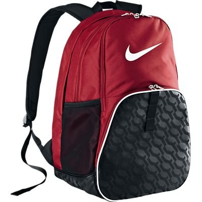 The Nike Brasilia 6 XL Backpack Gym Red/Black/White Size One Size (Nike Brasilia 6 Xl Backpack Black compare prices)