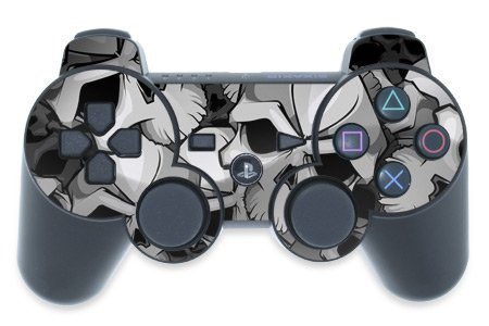 Mygift Bones Design Ps3 Playstation 3 Controller Protector Skin Decal Sticker