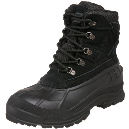 Kamik Men's Fargo Cold Weather Boot,Black,7 M US