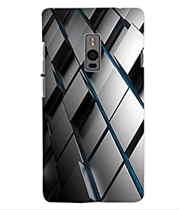 ColourCraft Pattern Design Back Case Cover for OnePlus Two