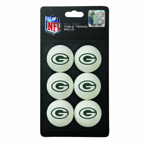 NFL Green Bay Packers Table Tennis Balls at Amazon.com