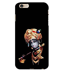 D KAUR Lord Krishna Lovers Back Case Cover for Apple iPhone 6S Plus