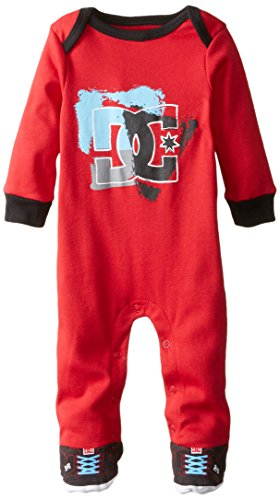 DC Shoes Co Baby-Boys Newborn Red Sleeper