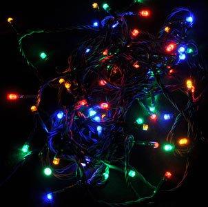 Indoor String Lights: Christmas Gift 64 LED Battery Operated Outdoor and Indoor String Lights ...
