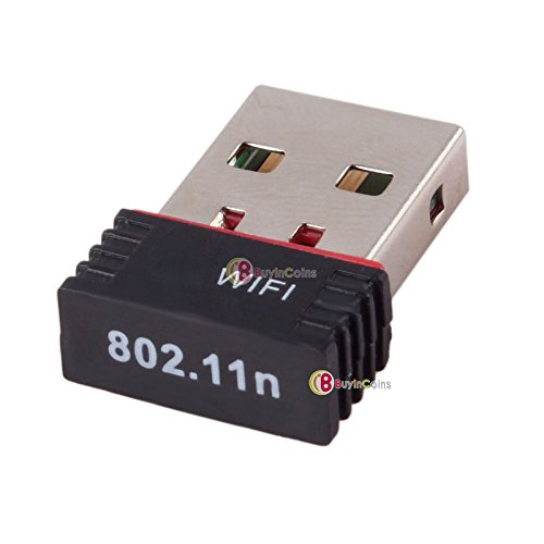 Portable Mini USB Wireless Router Dongle Internet Adapter WI-FI 150Mbps 802.11n --- It eanbles you to share your PC's Internet with other devices over a WIFI network