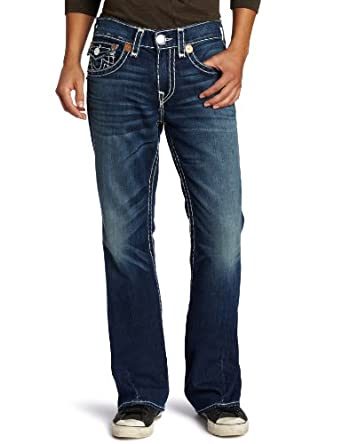 True Religion Men's Joey Super Jean, Blue, 36