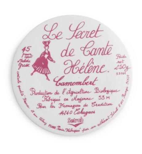 Rosanna 94885 Voyage Tray, Le Secret, Pink/White front-984929