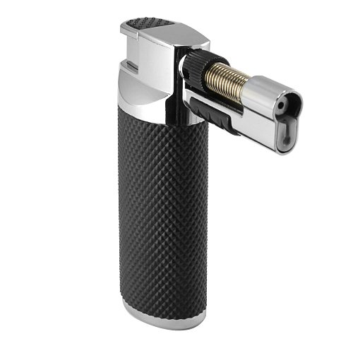 multi-purpose-black-rubber-grip-handle-chrome-housing-lockable-2-flame-patterns-micro-torch-jet-weld