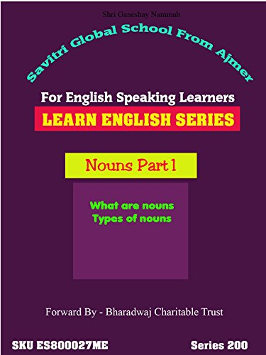 Nouns Class 1 - Learn English in 72 Hours Series Only - Dr Anup's Virtual Classes